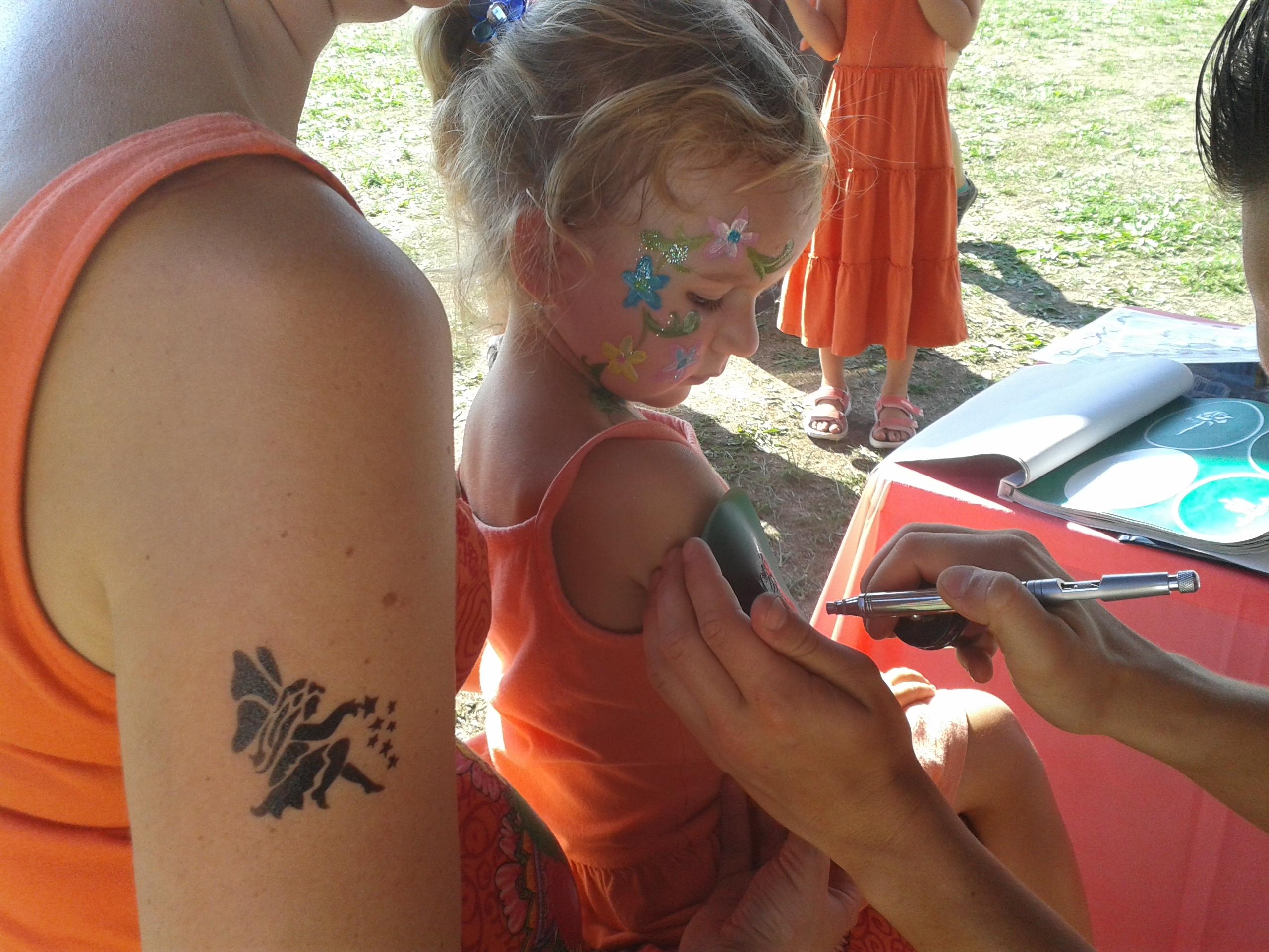 dočasné tetování