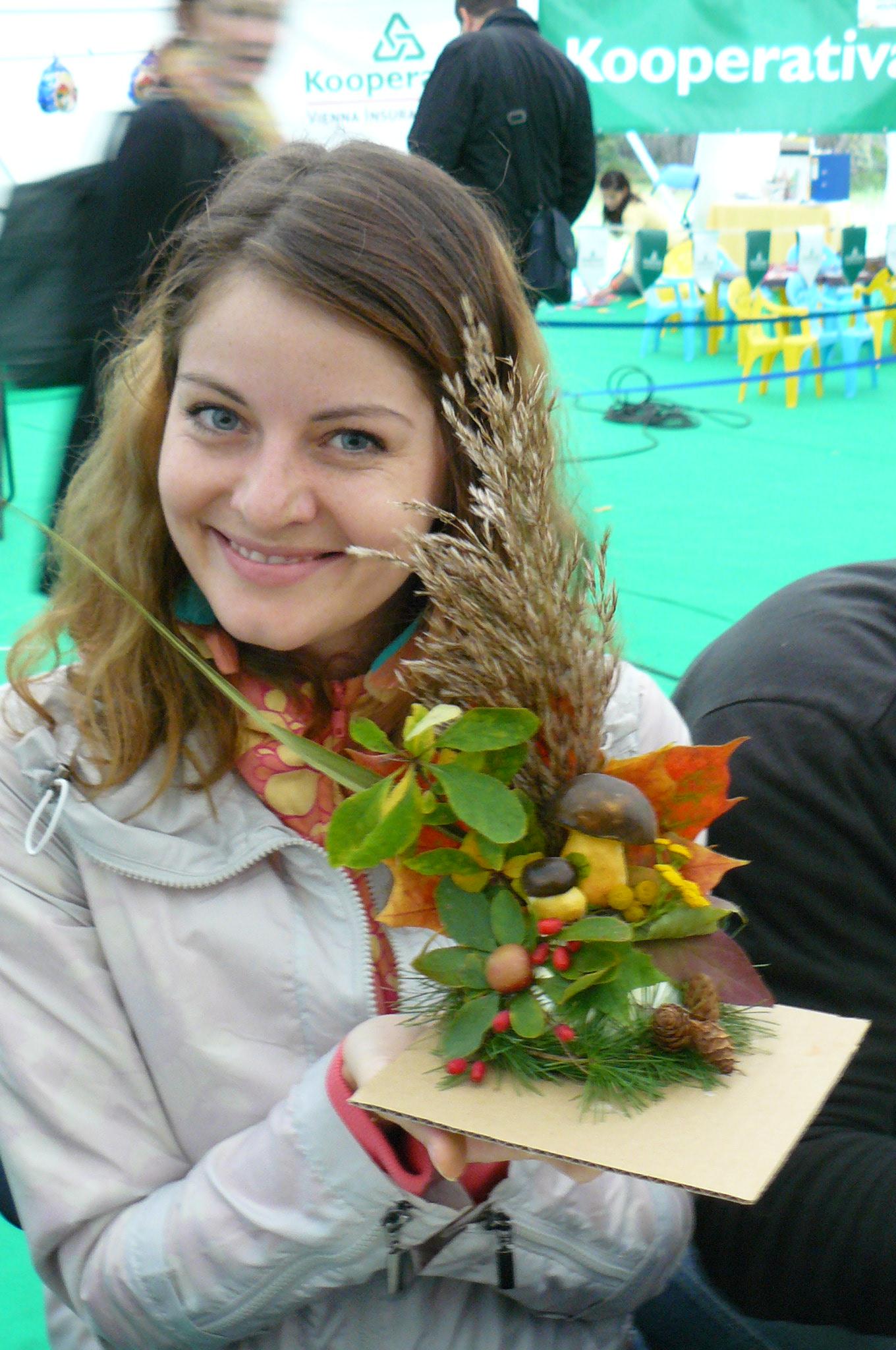 kreativní program-podzimní dekorace