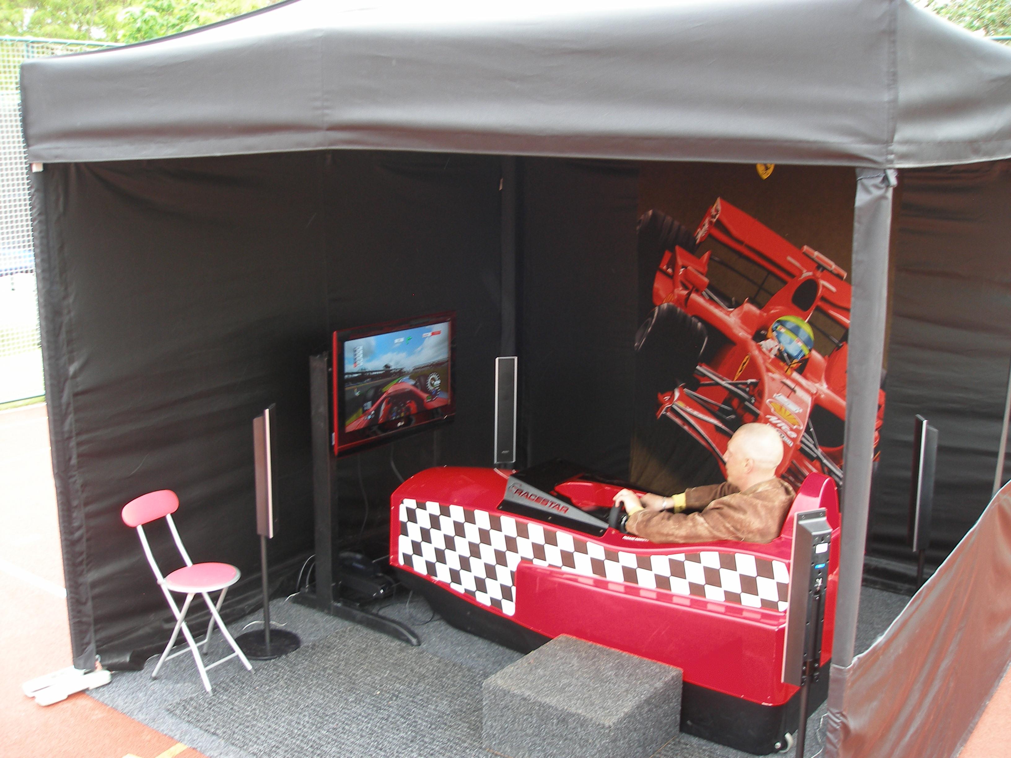 atrakce-simulátor F1