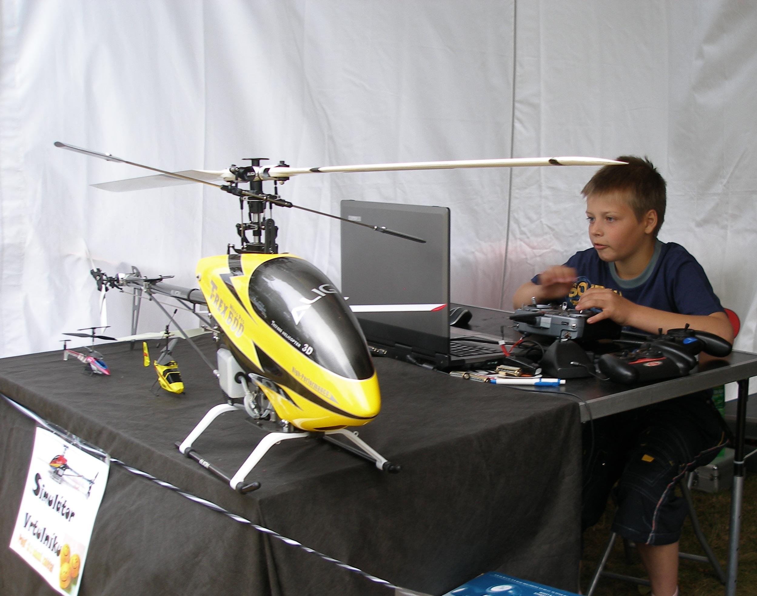 atrakce-simulátor vrtulníku