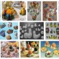 sádrové  odlitky-Velikonoční dekorace